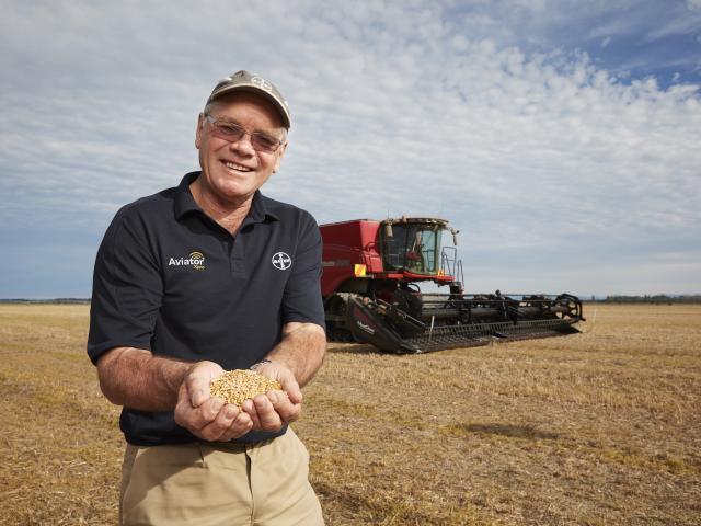 World-record holding Ashburton arable farmer Eric Watson. Photo: supplied.