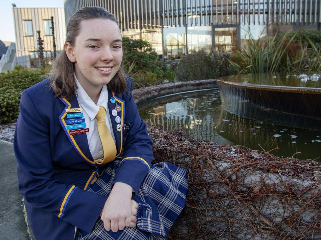 Katherine Rutter, 16, has published her first scientific paper on the state of Christchurch's...