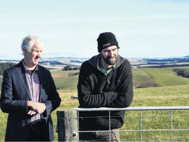 James and Samuel Reid farm Minchmoor Farm near Outram. Photo: Stephen Jaquiery
