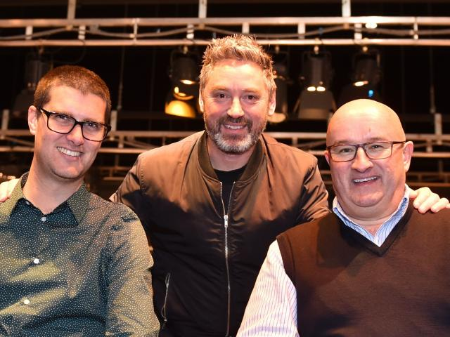 Teaming up to stage The Highlights at the Regent Theatre in October are (from left) Taieri...