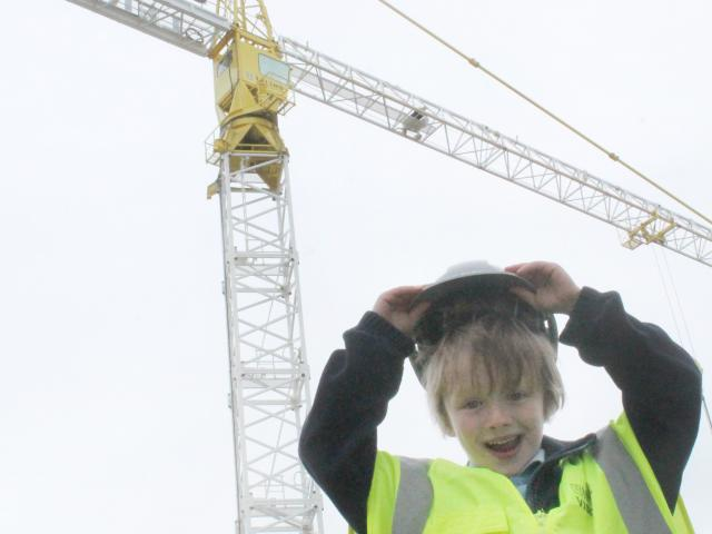 Newfield Park School pupil Harley Coutts (6) is thrilled to have won a competition to name a...