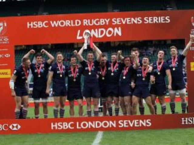 Scotland won its first World Sevens event in dramatic fashion in London in 2016. Photo: Supplied