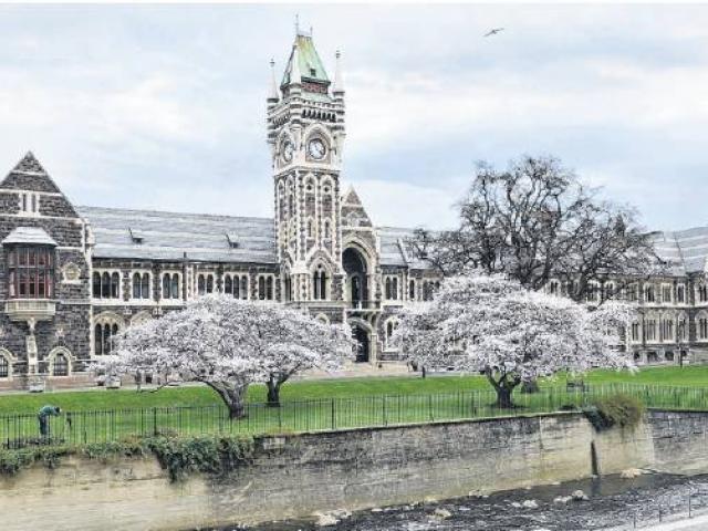 The University of Otago. Photo: Christine O'Connor