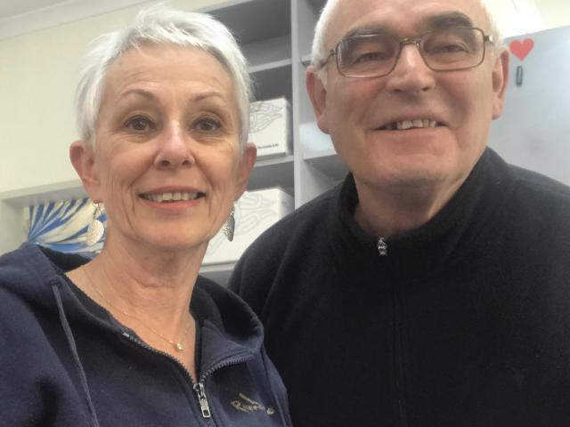Waikaia Store, Brown Owl Cafe and Waikaia Post Office owner Lyn Brown and ...