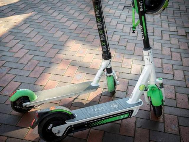 Lime scooters. Photo: ODT