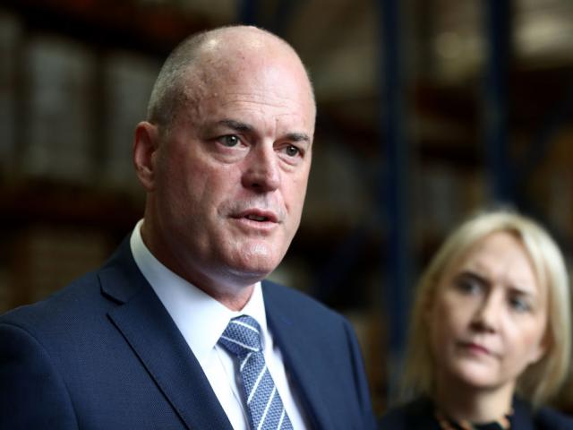 National Party leader Todd Muller. Photo: Getty Images