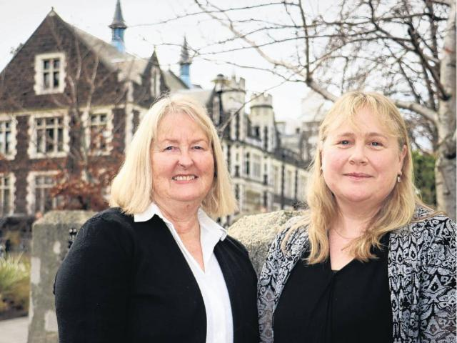 University of Otago Children's Issues Centre director Nicola Taylor (left) and deputy director...