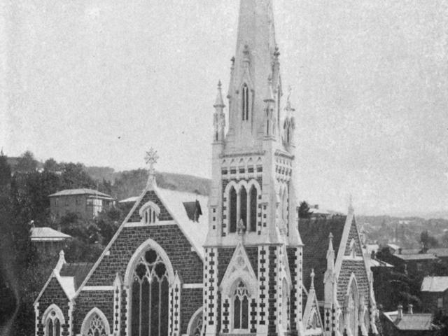 Knox Church, on the corner of Pitt and George Sts, Dunedin, on the occasion of ...