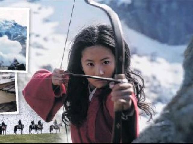 The mountains of the Ahuriri Valley form a spectacular backdrop for a new Disney offering live...