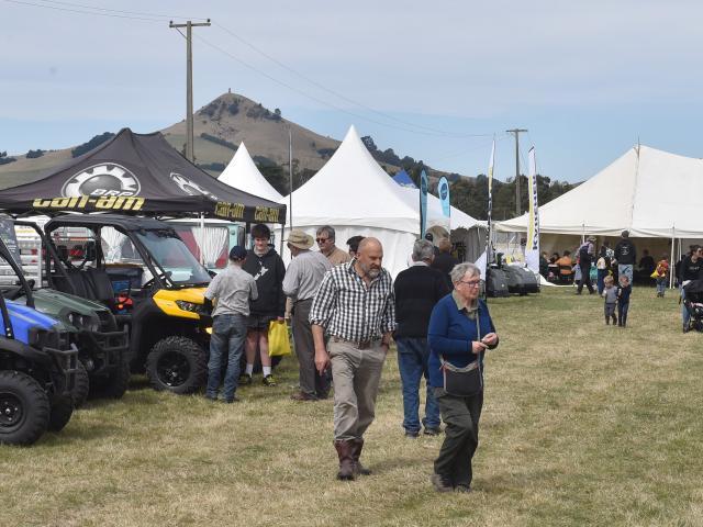 Otago Field Days at Palmerston in April last year. Photo: Gregor Richardson