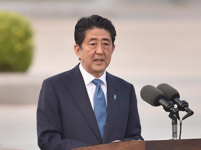 """Japanese Prime Minister Shinzo Abe described the launch as a """"grave threat"""" to Japan and said its..."""