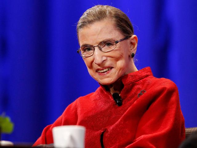 Ruth Bader Ginsburg died on Friday. Photo: Reuters