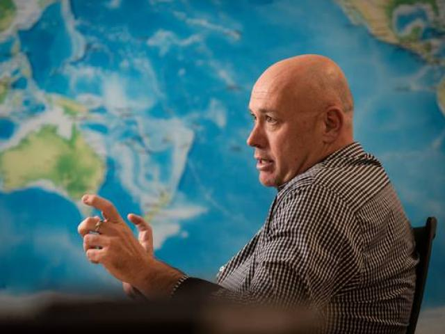 Flight Centre NZ managing director David Coombes. Photo: Greg Bowker