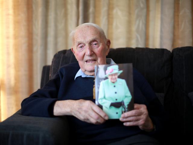 Tom Garbutt, of Oamaru, celebrated his 100th birthday on Sunday. PHOTO: REBECCA RYAN