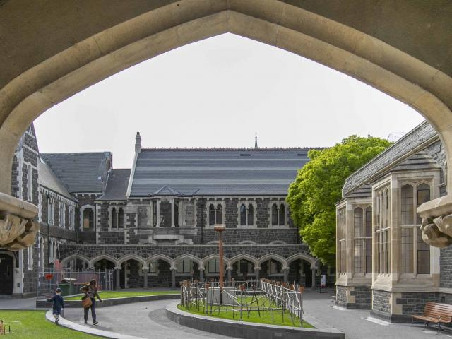 The Arts Centre. Photo: Newsline / CCC