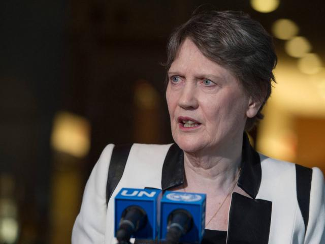 Helen Clark regularly speaks out against the global war on drugs. Photo: United Nations