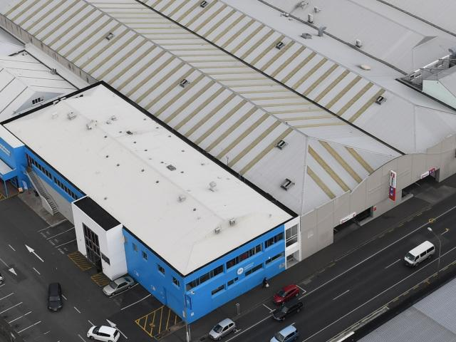 Structural demolition would begin on the former Warehouse Stationery building in Cumberland St...