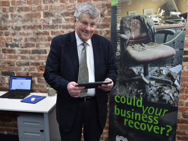 Sam Mulholland has a business that looks after disaster planning for international firms. PHOTO:...