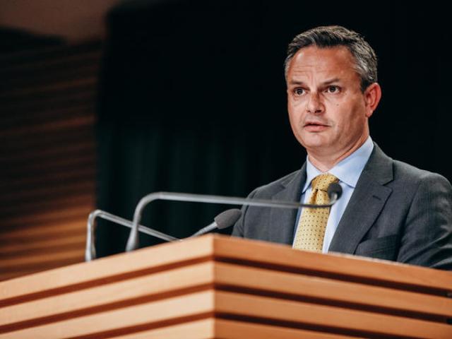 Green Party co-leader James Shaw. Photo: RNZ /Dom Thomas