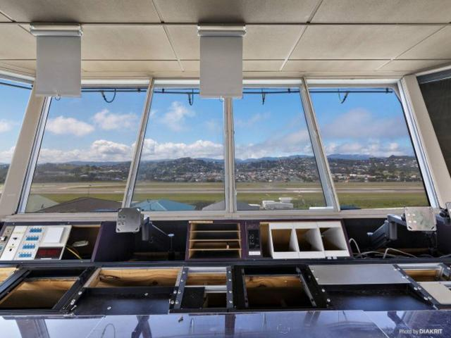 The tower boasts views from Evans Bay to Lyall Bay. Photo: Supplied