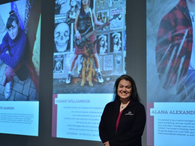 Jessa Barder, science engagement co-ordinator, Otago Musuem. PHOTO: SUPPLIED