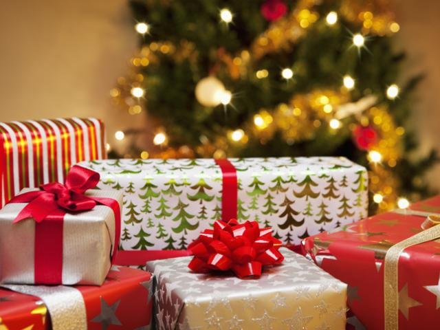 Christmas presents gifts getty