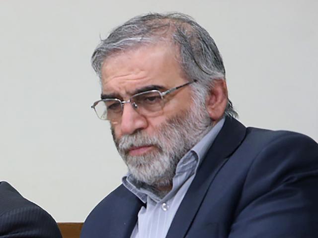 Prominent Iranian scientist Mohsen Fakhrizadeh. Photo: Official Khamenei Website/WANA (West Asia...