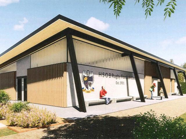 The proposed new changing rooms for North Hagley Park. Photo: Newsline / CCC