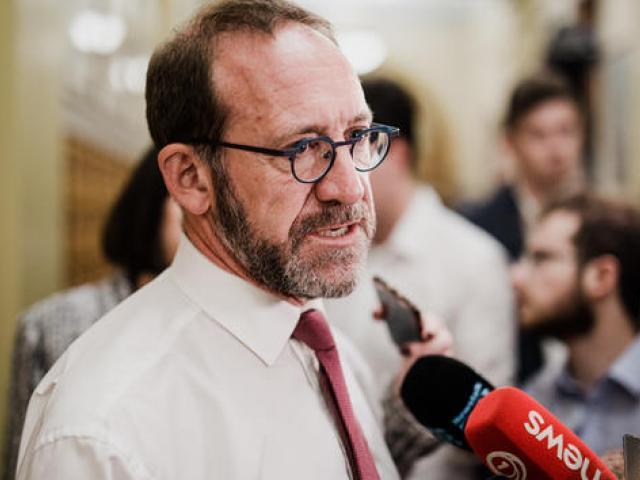 Minister of Health Andrew Little. Photo: RNZ / Nate McKinnon