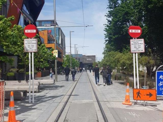 The bollards will be installed to limit access to a high use public area on Oxford Terrace. They...