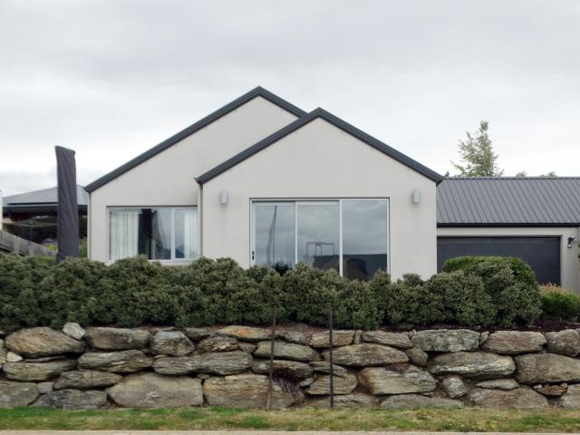 A Wanaka house  being sold on a new  auction website.  PHOTO: MARK PRICE