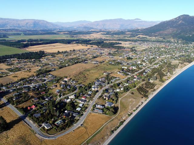 The Lake Hawea township has an increasing number of toilets. PHOTO: STEPHEN JAQUIERY