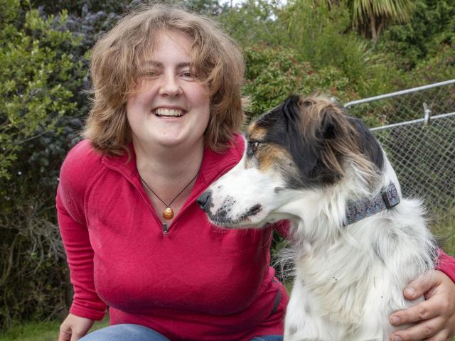 Vikki Smith is keeping Mort at home and away from other dogs as he recovers from a case of...