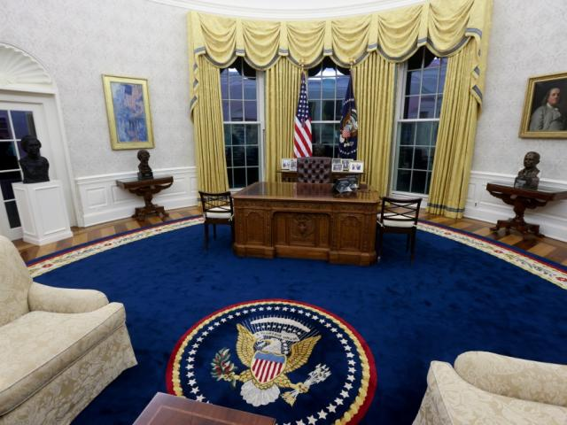 The Oval Office is the formal working space for the president. Photo: Reuters