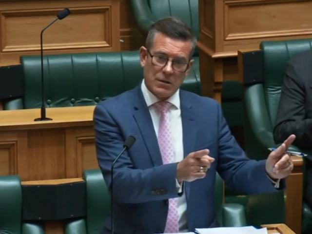 Michael Woodhouse speaks in the first reading debate on the ...