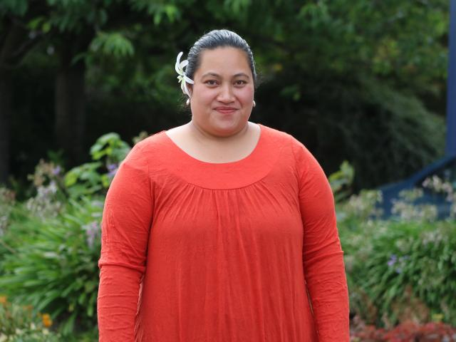 Oamaru Pacific Island Community Group's new pacific community health link worker Uinita Tapa...