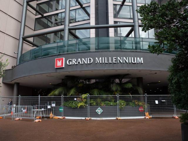 The Grand Millenium Hotel in the Auckland CBD. Photo: NZ Herald