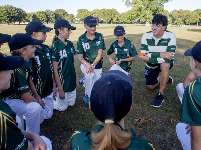 Heaton Normal Intermediate's girls first XI has built a formidable record with coach Barry van...