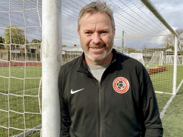 Mainland Football chief executive Julian Bowden. Photo: Chris Barclay