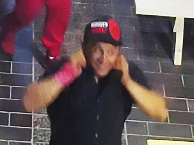 The unknown Mongrel Mob member who allegedly attacked Leni Taufateau on the Terrace in the early...