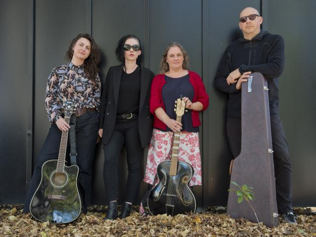 Dunedin musicians (from left) Dr Marissa Kaloga, Dr Fairleigh Evelyn Gilmour, Liz McCafferty and...
