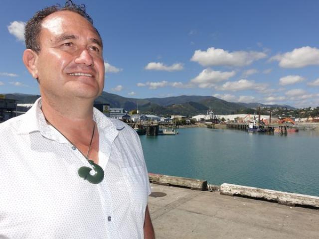 Doug Paulin says not many New Zealanders want to work at sea. Photo: RNZ / Tracy Neal