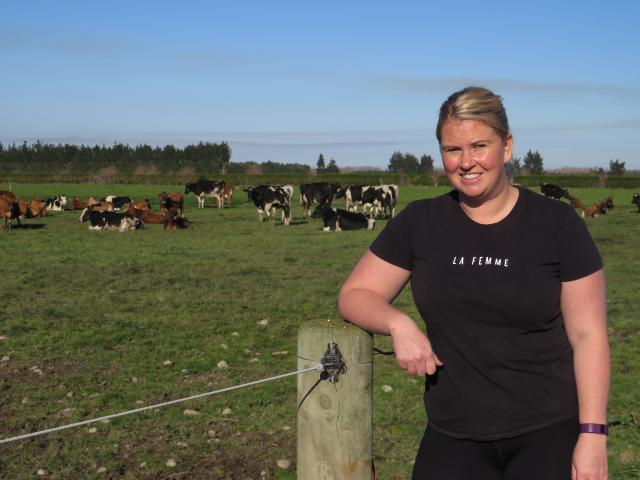 Lucy Gilbert credits keeping busy on farm, and her new business, as helping her deal with...