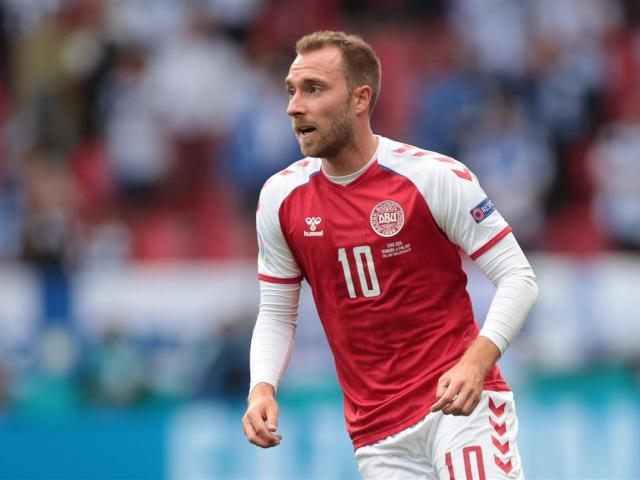 Christian Eriksen collapsed suddenly in the 42nd minute of the match against Finland while...