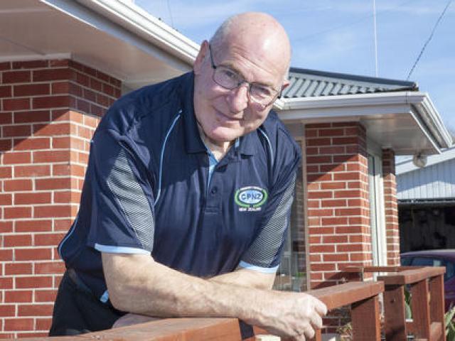 Geoff Chapman's dedication to the Burwood Pegasus Community Watch earned him a community service...