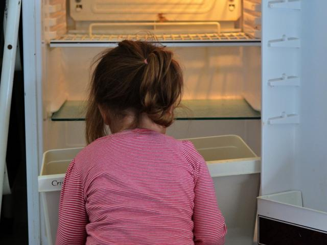 Land of plenty? Child poverty statistics might beg to differ. PHOTO: GETTY IMAGES