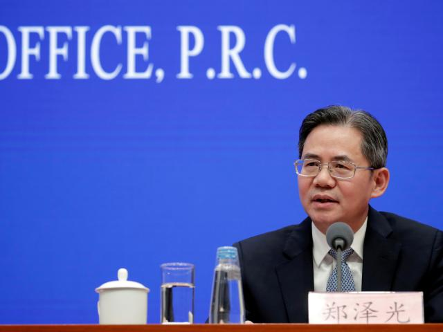 Chinese Vice Minister of Foreign Affairs Zheng Zeguang. Photo: Reuters