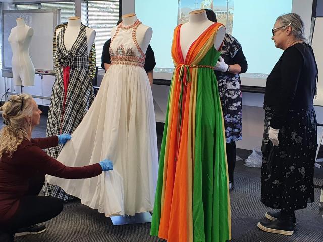 Co-curator of the ''Eden Hore: High Country High Fashion'' exhibition Jose...