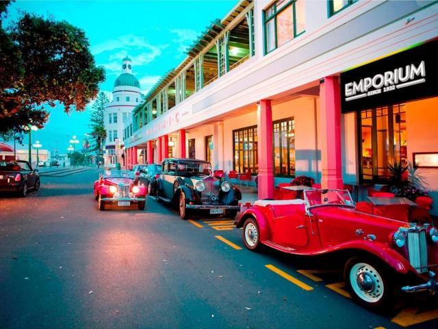 Napier embraces its Art Deco heritage.PHOTO: SUPPLIED