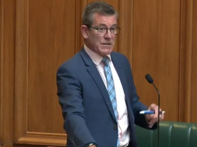 Dunedin National Party list MP Michael Woodhouse speaks in the general debate in Parliament on...